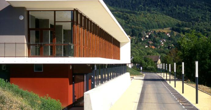 Complexe sportif à Saint-Martin d Uriage (38)