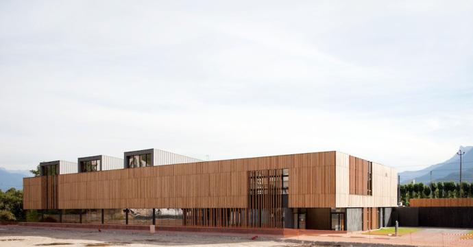Complexe sportif et restaurant scolaire de Saint Martin le Vinoux (38)
