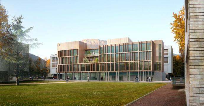 BÂTIMENT PHYSIQUE université GRENOBLE