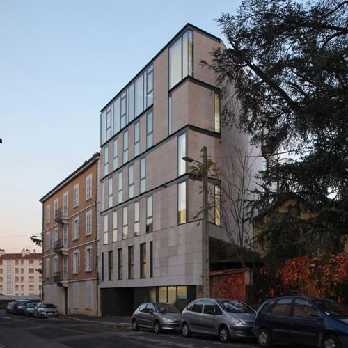 bureaux H&O à Villefranche sur Saone maitre d'ouvrage: UTIADE livraison décembre 2015