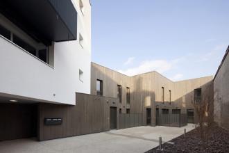 ossature bois studio gardoni saint fons logements